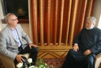 Συνάντηση με τον Οικουμενικό Πατριάρχη Αρμενίων Aram I